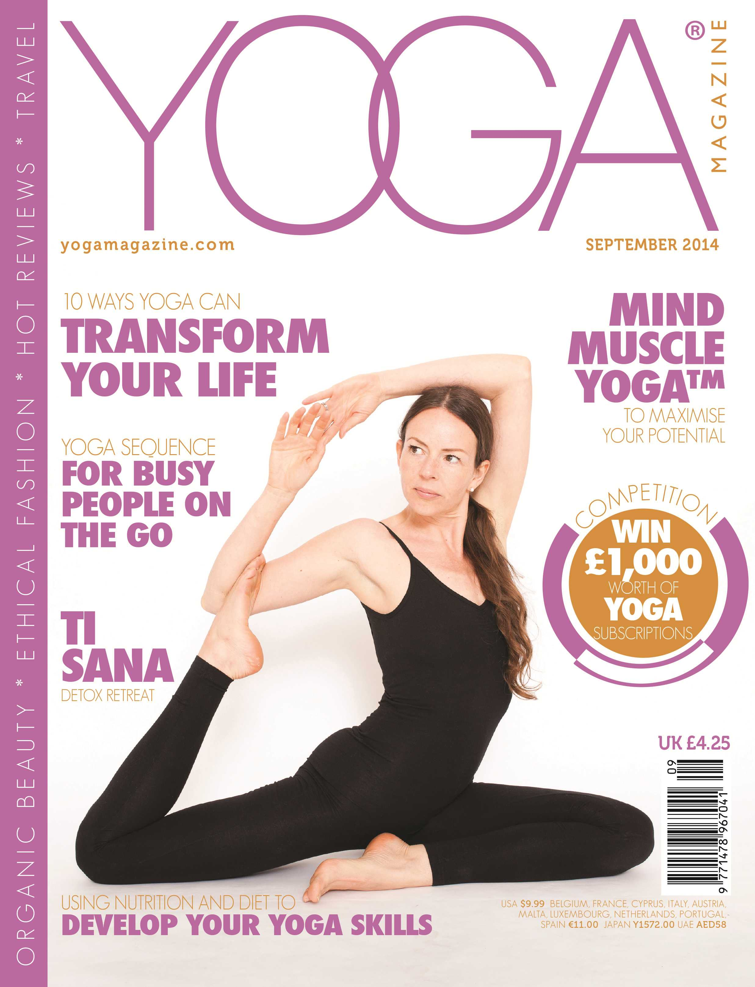 Yoga Magazine (Sept 14)